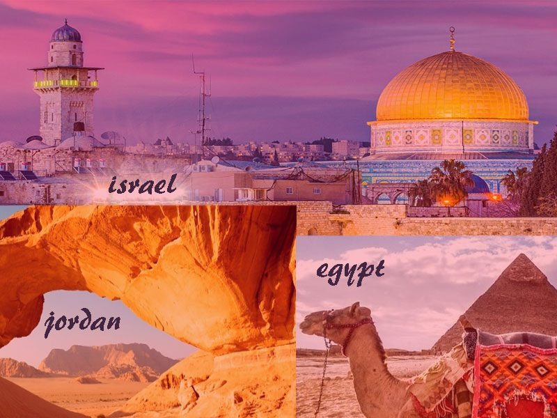 Jordan Israel And Egypt Tour 3 Destinations In One Tour Package